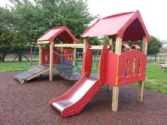 Tower systems are not just for the big kids! Our Lilliput Playtown range is designed specifically for EYFS.  With a lower free fall height and age-appropriate play features designed to challenge, our Lilliput Playtowns are available in one, two (see above), three and four tower options - perfect for any size play space