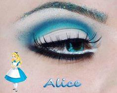 Wonderland. + Información sobre nuestro CURSO: http://curso-maquillaje.es/msite-nude/index.php?PinCMO