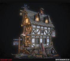 ArtStation - Merchant's Cart, Bryn Felton-Pitt