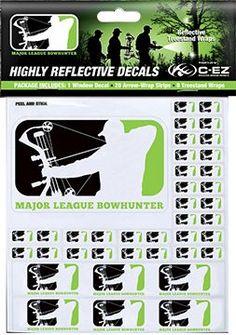 C-EZ REFLECTIVE OUTDOOR PROD C-EZ Major League Bowhunter Series Wraps, PK