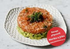 Tatarák z lososa Salmon Burgers, Ethnic Recipes, Salmon Patties
