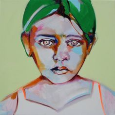 "Saatchi Art Artist Patricia Derks; Painting, ""Kate""."