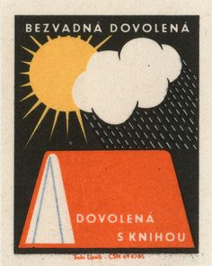 czechoslovakian matchbox label by the Solo Lipnik factory