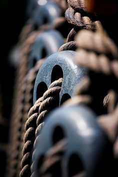Ropes and Pulleys by Mr Geof - Jeff Farmer