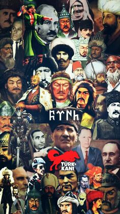With the difference of TKTT, the prominent figures of Turkish History and Turkism. - Welcome Haar Design Turkish People, Asian History, Flags Of The World, Ottoman Empire, Photography, Design, Mustang, Che Guevara, Wallpapers