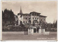 Biella - RZ3277 - PONZONE BIELLESE - TRIVERO - BIELLA - A. 1941 - UNA DELLE PRIME CARTOLINE ILLUSTRATE ANNI '40