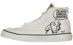 Baggins Shoes : Vans Shoes : Womens, VANS SK8 HI DECONSTRUCT R. CRUMB : Buy Online