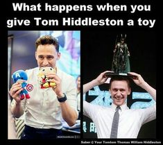 Tom is Seriously a child in a 32-year-old body