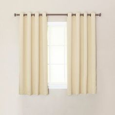 short curtains for bedroom windows beige - Google Search