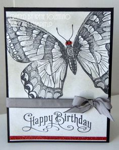 Swallowtail - Happy Birthday Stampin'Up