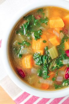 Detox Vegetable Soup - Vegan & Gluten Free