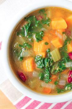 Detox Vegetable Soup - Vegan & Gluten Free