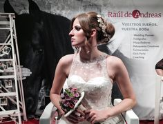 Peinados de novia por RdA en la pasada edición de #expobodas #weddinghair #weddingplanner