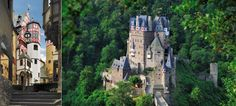 Eltz Castle & Forest-overlooking the Moselle River between Koblenz and Trier, Germany