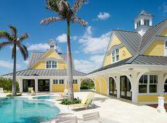 Seaside Style: {Tour }The Aurora on Winding Bay Abaco, Bahamas