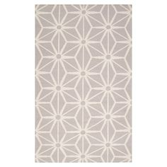 Hand-woven wool rug.  Product: RugConstruction Material: 100% WoolColor: Taupe and ivory  For mt foyer??