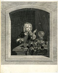 After Frans van Mieris I Print made by Jean Georges Wille The distracted observer; a curly-haired boy making soap bubbles, standing behind a table upon which are an embroidered drapery and some metal vases; in trompe l'oeil stone border; after Frans van Mieris the Elder; finished state, with additional shading on the border; before coat of arms, before letter. 1766 Etching and engraving Metal Vase, Soap Bubbles, Vanitas, Gravure, Coat Of Arms, Soap Making, Art History, Curly Hair Styles, Jean Georges