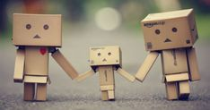 Danbo - The Cardboard Robot Paper Toy - via Paper Toy France