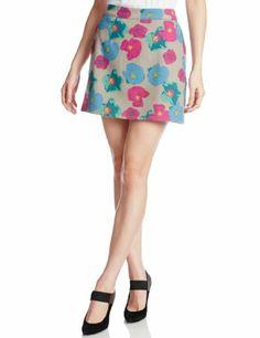 Amazon.co.jp: (ムルーア)MURUA メルトフラワー台形スカート: 服&ファッション小物