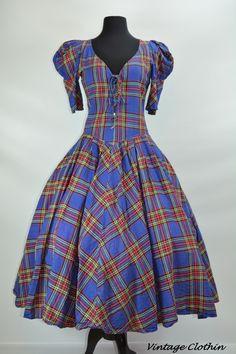 Available in store or online  1980s does 1950s Karen Alexander Plaid Rockabilly Dress  https://www.etsy.com/listing/244192630/1980s-does-1950s-karen-alexander-plaid?ref=shop_home_active_1  #1980sdress #vintagedress #1950sdress  #1980 #1980s #1950 #1950s  #Dress #vintagedress #vintageclothes #vintageshop #vintagestore #vintageclothing #vintageclothin #vintagewear #vintage #dressvintage #vintageclothin.com #vintageshopping #retro #retrodress #retroclothes #retroclothing #vintagefashion…