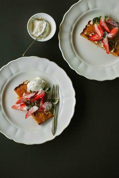 my darling lemon thyme: simple almond torte recipe {gluten-free}