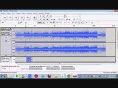 Audacity recortar, mezclar voz música, efecto envolvente y otros