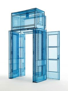 Do Ho Suh Main Entrance, 348 West Street, New York, NY USA, 2016 Polyester fabric on stainless steel pipes x x cm 123 x 68 x 84 in edition of 3 plus 1 artist's proofs Yves Klein, Do Ho Suh, Pick Art, Instalation Art, Art Advisor, Artistic Installation, Art Textile, Main Entrance, Korean Artist
