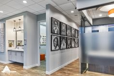 Simple and Modern Spacious Office. Dental Office Design by Arminco Inc.