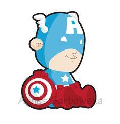 Baby Captain America by AgnesGarbowska on DeviantArt