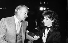 Never Say Never Again. Lani Hall & Sean Connery.