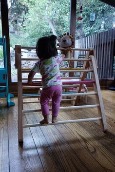 Picture of How to Make a Foldable Pikler Triangle (climbing Frame)