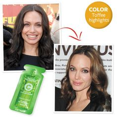 Go Lighter, Darker, Redder! Find Your Perfect Celebrity Shade - Go Lighter Like Angelina Jolie from #InStyle