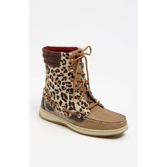 Sperry Top-Sider® 'Hikerfish' Boot ($125) ❤ liked on Polyvore