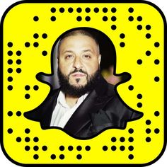 DJ Khaled Snapchat Code Snapchat Faces, Best Snapchat, Celebrity Snapchats, Dj, Artsy, Celebrities, Movie Posters, Photography, Fotografie