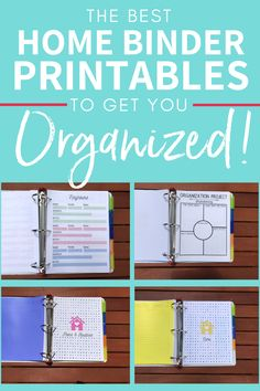 Notebook Organization, Organization Hacks, Organizing Tips, Organized Mom, Getting Organized, Home Quotes And Sayings, Wisdom Quotes, Quotes Quotes, Household Notebook