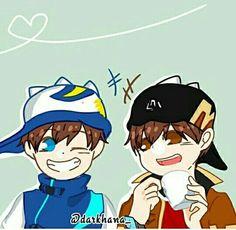 foto {boboiboy and friend} - sweety^w^ - Wattpad Boboiboy Anime, My Childhood Friend, Boboiboy Galaxy, Birthday Month, My Idol, Disney Characters, Fictional Characters, Wattpad, Animation