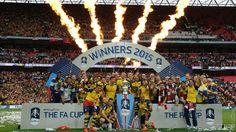 Arsenal - FA Cup winners 2015