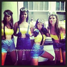 Minion Halloween HAHA this would be awesome