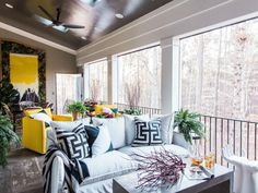 Screened Porch at HGTV Smart Home 2016 >> http://www.hgtv.com/design/hgtv-smart-home/2016/screened-porch-pictures-from-hgtv-smart-home-2016-pictures?soc=pinterest