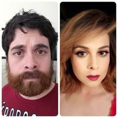 Resultado de imagen para mtf transition before and after Transgender Before And After, Mtf Before And After, Male To Female Transition, Mtf Transition, Transgender Mtf, Transgender People, Lgbt, Male To Female Transformation, Crossdressers