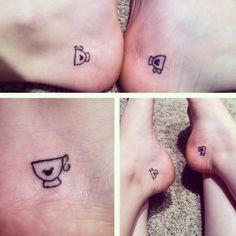 BFF Tea cup tattoo! @Victoria Brown Brown Brown Simcheck