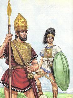 *Guerrieri Villanoviani, IX-VIII secolo a.C.