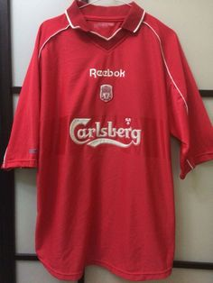 a64be93dd LIVERPOOL FC CARLSBERG HOME SOCCER JERSEY BY REEBOK  fashion  clothing   shoes  accessories  mensclothing  activewear (ebay link)