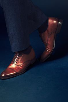 Cap toes look only as good as the non-saggy pants that accompany them | Ozwald Boateng