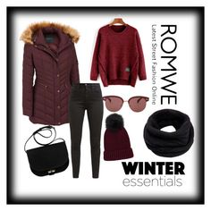 """""""Winter essential"""" by eldinarr ❤ liked on Polyvore featuring Andrew Marc, Oliver Peoples, Levi's and Helmut Lang"""