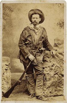 carte de visite mountainman | Old West Photos