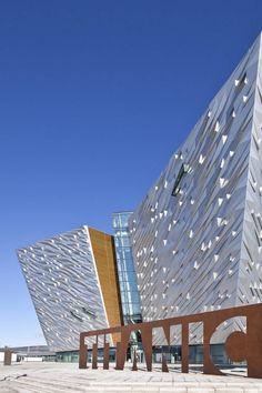 Titanic Belfast Museum, Belfast, Northern Ireland