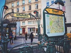 When in @Paris... #paris #france #metro #metropolitain #vscocam #vsco #vscotravel