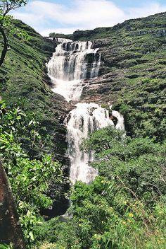 Cachoeira (Waterfall) da Capivara - Serra do Cipó, Brazil;  photo by marcoloco, via Flickr