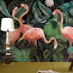 Quality Custom photo wallpaper stereo hand painted Flamingo wallpaper restaurant children room zoo lounge wallpaper papel de parede with free worldwide shipping on AliExpress Mobile Flamingo Wallpaper, Flamingo Art, Cheap Wallpaper, Photo Wallpaper, Custom Wallpaper, Bedroom Wallpaper Murals, Painting Wallpaper, Mural Art, Wall Art